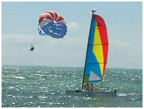Parasailing Key West