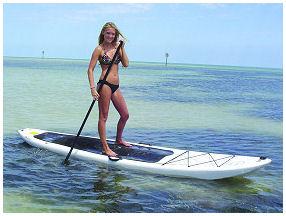 Paddleboarding Key West