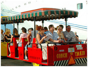 Key West Conch Tour Train Ride