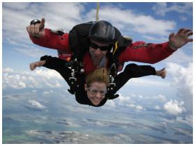 Skydiving in Key West