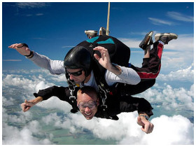 Sky Diving in Florida Keys