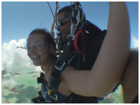 Sky Diving in Key West