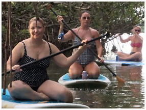 knee paddle board