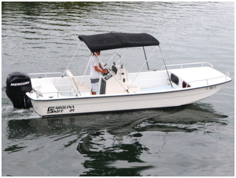 21 ft-Carolina Skiff Boat Rental
