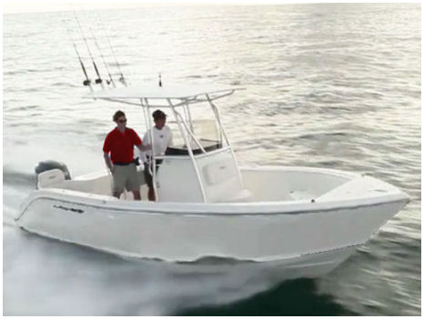 22-ft Cobia Boat Rental