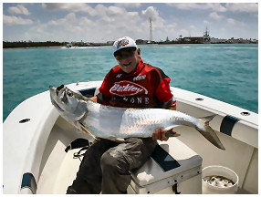Tarpon Mania Fishing Charter