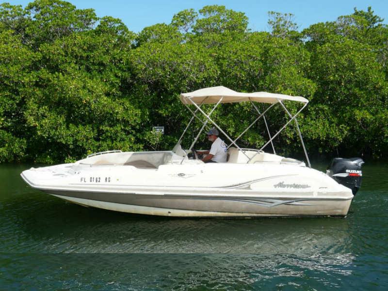 21 foot deck boat rental