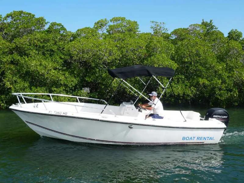 22 foot cape craft fishing boat rental