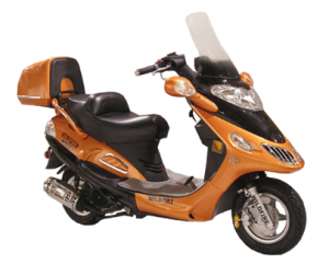Two Seater Deluxe Scooter